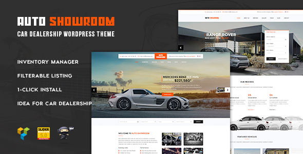 Auto ShowRoom - Auto Mechanic & Car Dealer WordPress Theme V.1