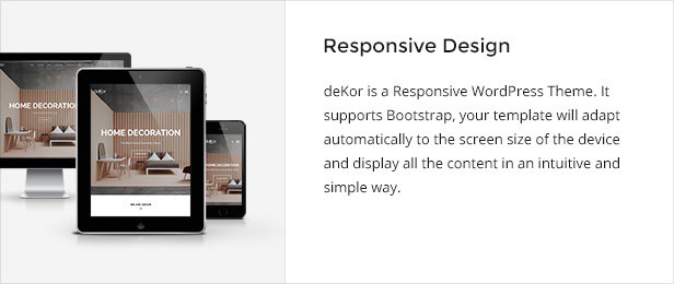 deKor - Interior WordPress Theme - 1
