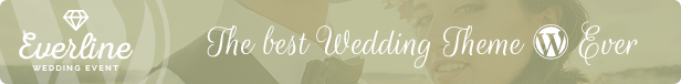 Everline - Wedding Events HTML Template - 1