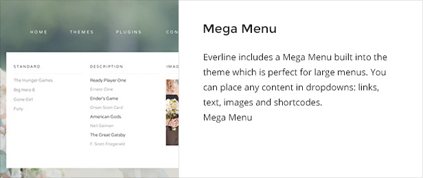 Everline - Wedding Joomla Template
