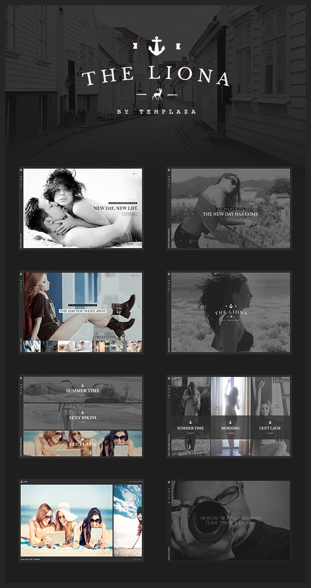 LIONA | A Portfolio Theme for Creative Site - 1