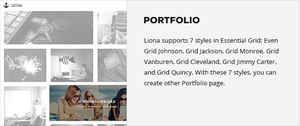 LIONA | A Portfolio Theme for Creative Site - 10