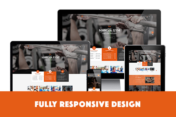 Gym Fitness Yoga - Maniva WordPress Theme - 2
