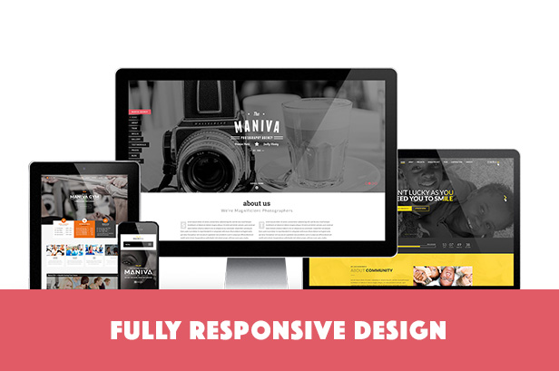Maniva | Multipurpose One-Page WordPress Theme