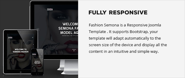 Fashion Semona - Creative Joomla Template