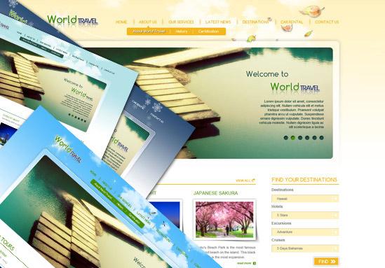 TemPlaza - World Travel v1 - WordPress version