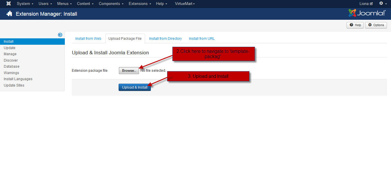 Amazing Upload Template Joomla Pictures Inspiration - Entry Level ...