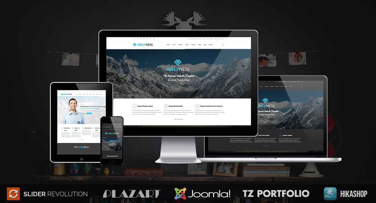 jollyness business joomla template 528 h XL
