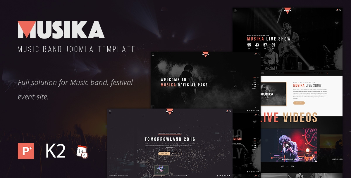 musika music band joomla template 702 h XL