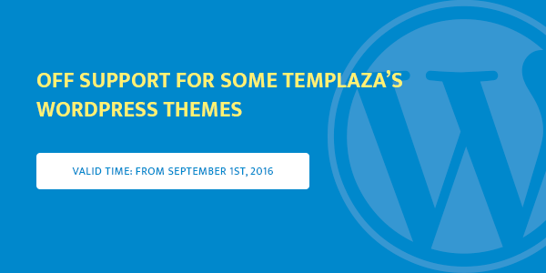 off-support-for-some-templaza-wordpress-themes