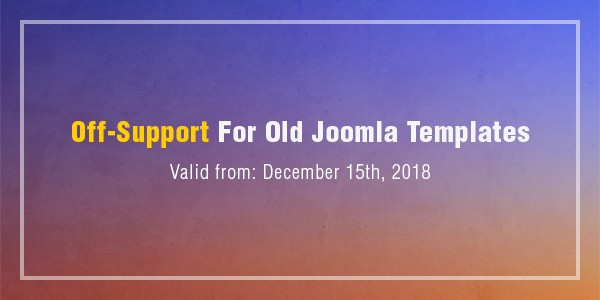 Off-Support-For-Old-Joomla-Templates