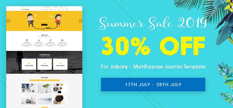 Summer-Sale-2019-30-OFF-For-Jollyany-MultiPurpose-Joomla-Template