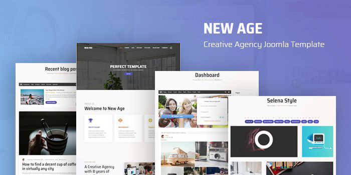 Introduce New Age - Creative Agency Joomla Template