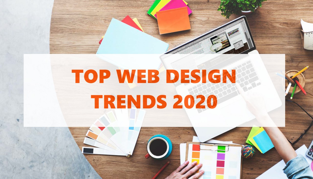 Top leading web design trends in 2020