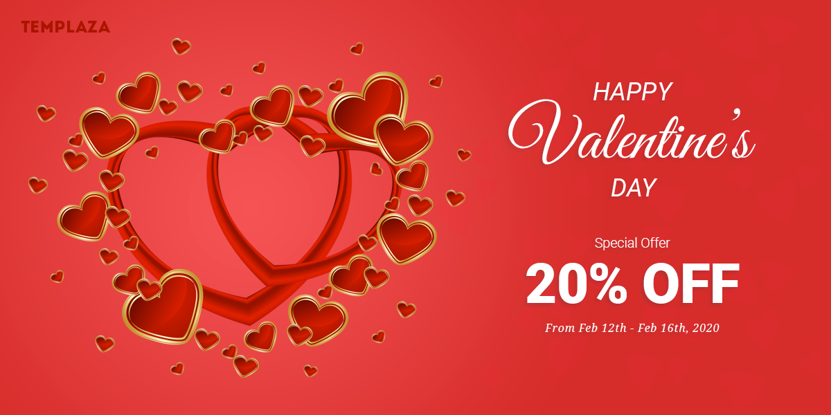 Happy Valentine - Save 20% On Featured Items