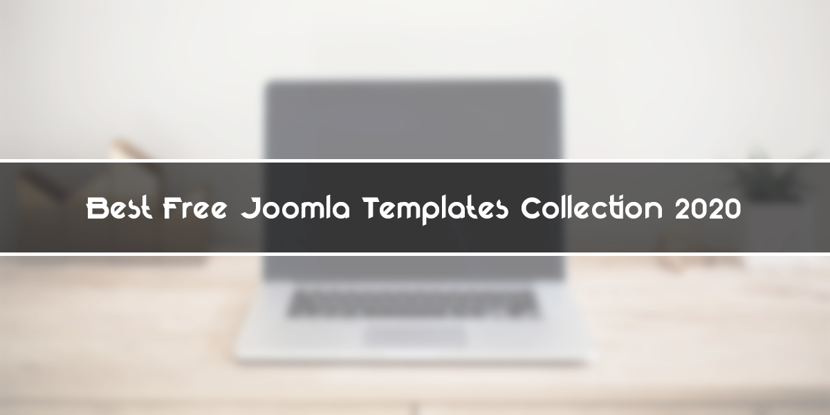 Best Free Joomla Template Collection in 2020