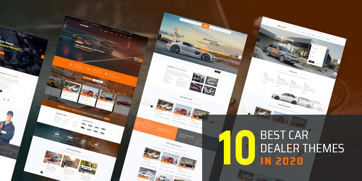 10 Best Car Dealer Wordpress Themes In 2020 Templaza Blog
