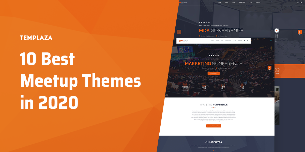 10 Best Event WordPress Themes In 2020