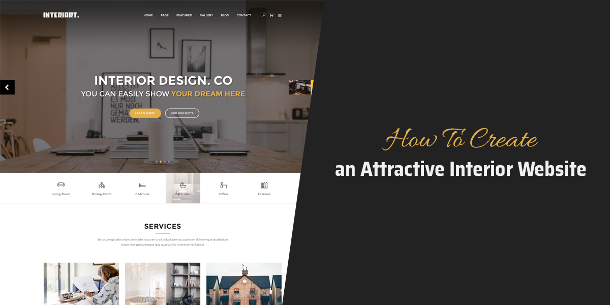 How To Create An Attractive Interior Website