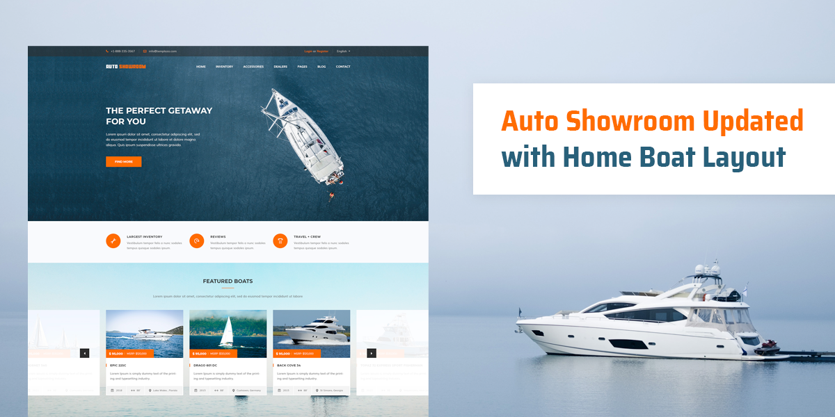 Autoshowroom Updated With Home Boat Layout