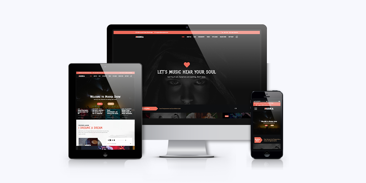 [Update] Gear up your music website with Musika 2.0.0