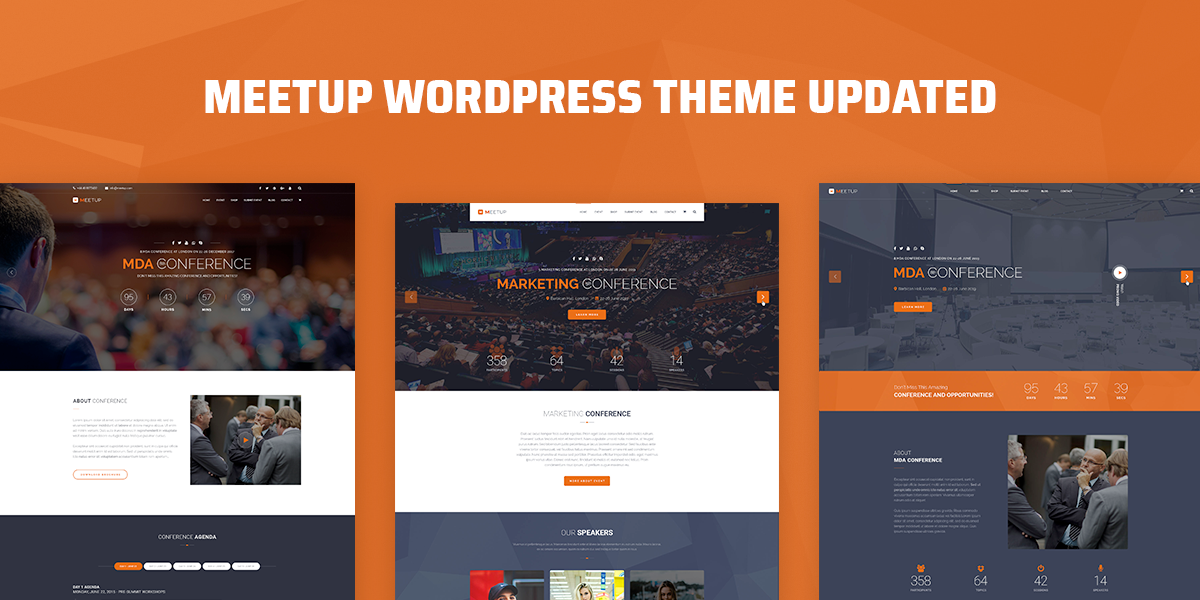 [Update] Meetup WordPress Theme Version 1.7.5 Is Available