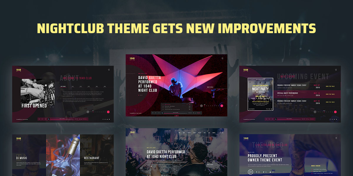 [Update] Nightclub Theme Gets New Improvvements