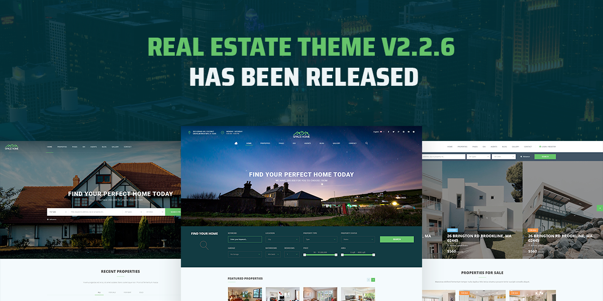 [Update] Real Estate WordPress Theme Has Been Updated