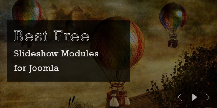 10 Best Free Slideshow Modules for Joomla