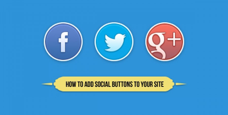 How To Add Social Buttons To Your Website