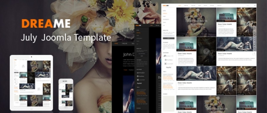 July Joomla Template - Dreame