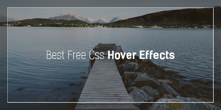 Best Free Css Hover Effects