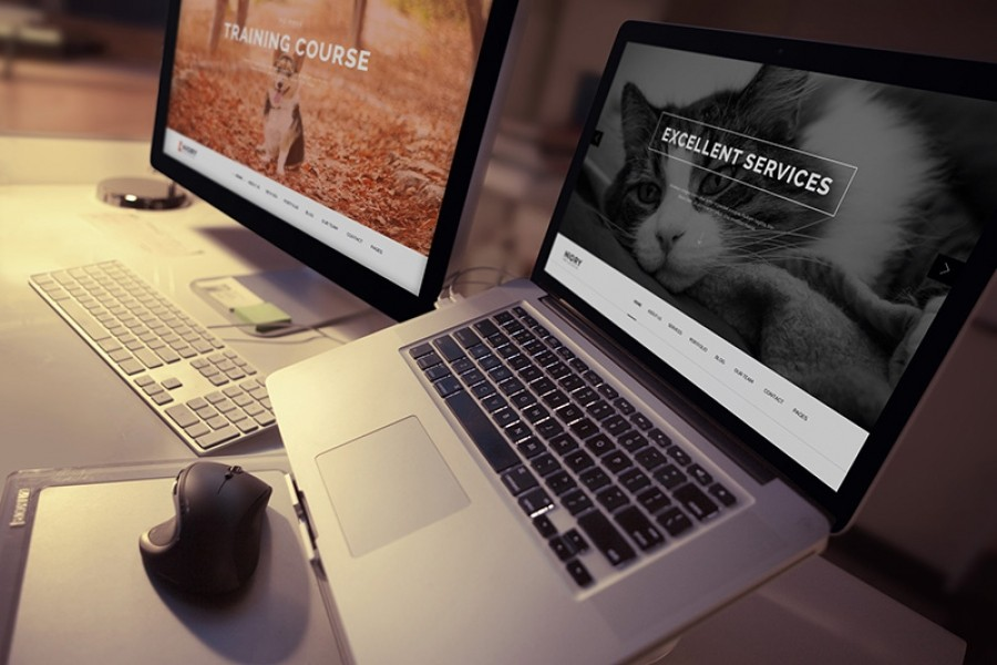 Niory Template - One Page Joomla Template in Preview