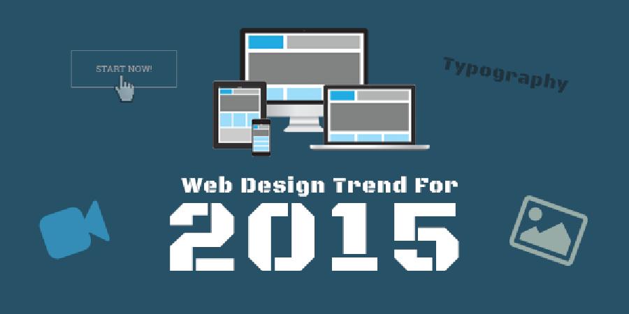 Web Design Trends for 2015