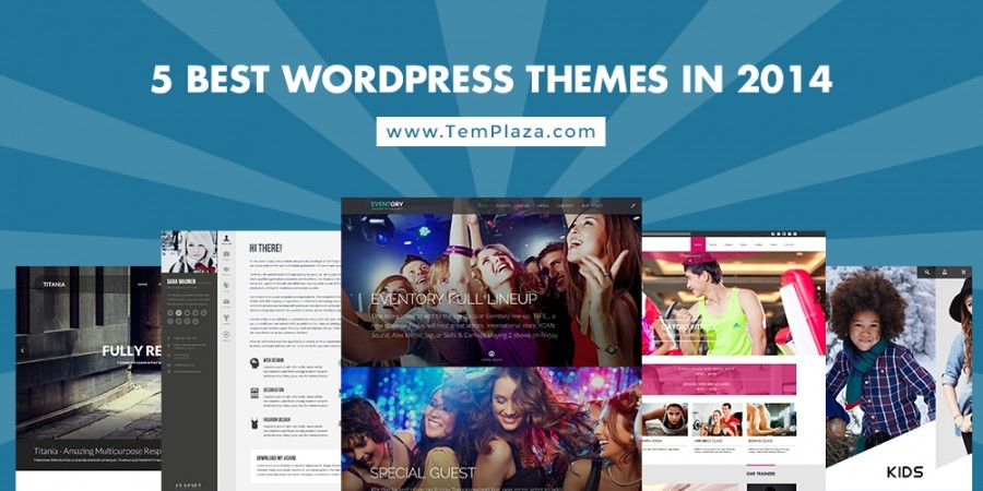 5 Best WordPress Themes In 2014
