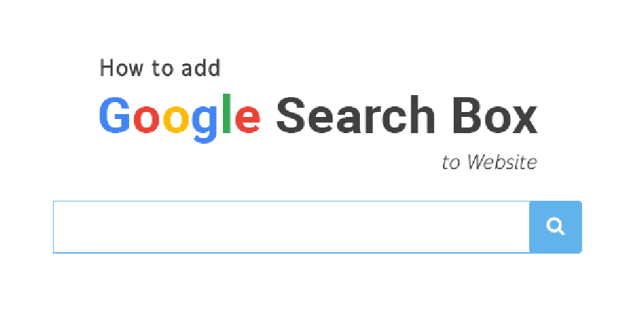 How To Add Google Search Box To Website