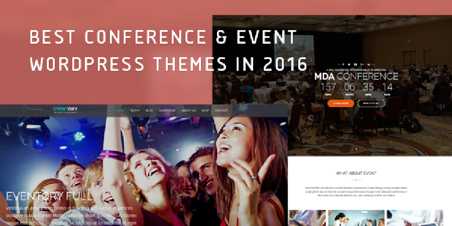 Best Event & Conference WordPress Themes 2016