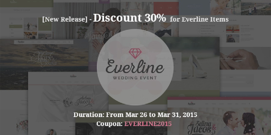 [New Release] – Discount 30% OFF For Everline Items