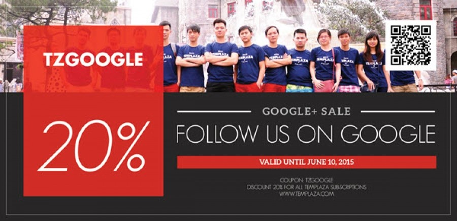 Visit Our Google+ & Get 20% OFF On All Subscriptions
