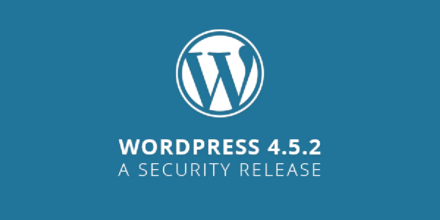 WordPress 4.5.2 - A Security Release