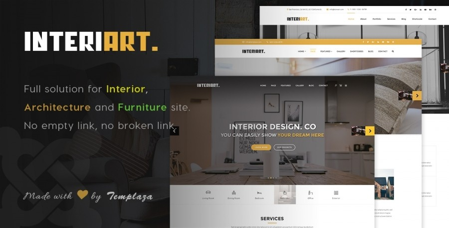 40% OFF on InteriArt - Interior Joomla Template: 7 days left!
