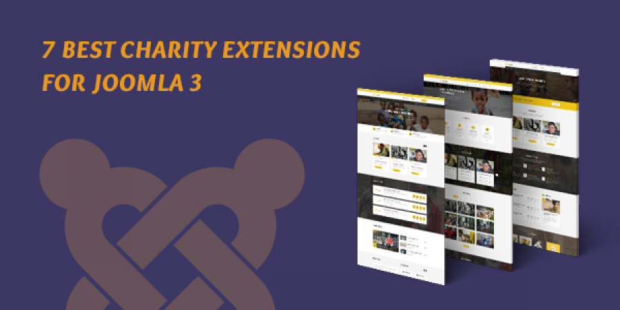 7 Best Charity Extensions for Joomla 3