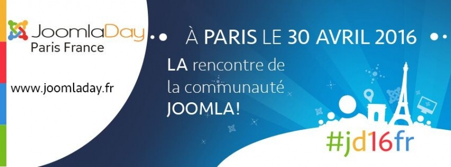 JoomlaDay Paris 2016 Is Coming