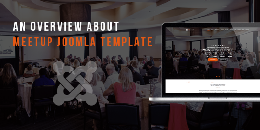 MeetUp - Conference Event Joomla Template in Preview
