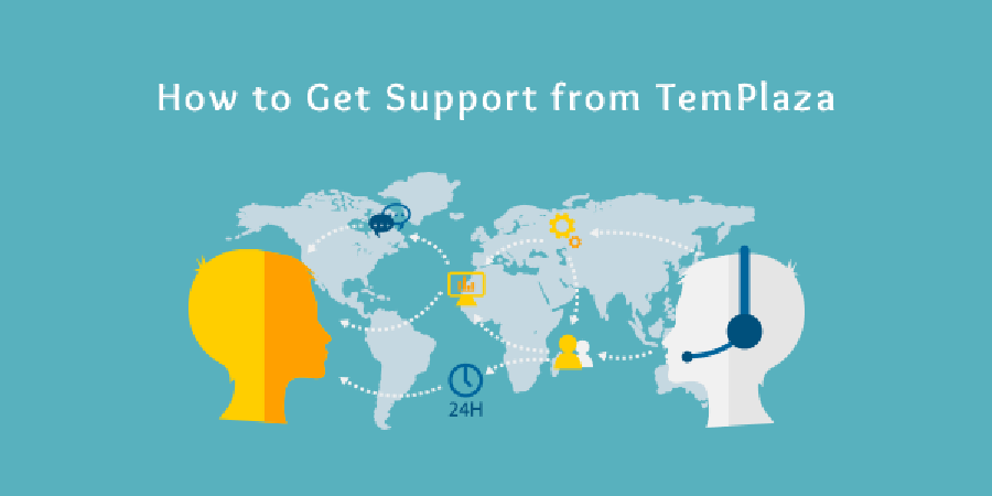 How to Get Support from TemPlaza