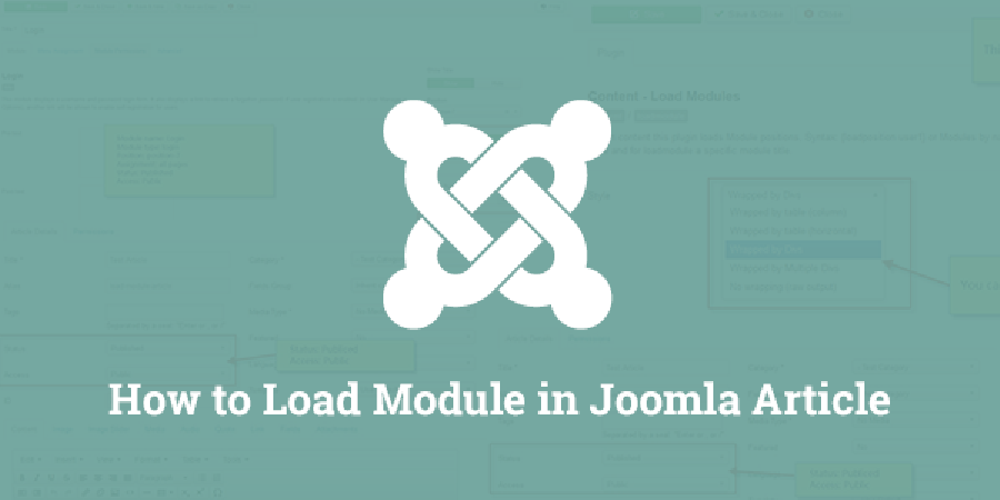 How to Load Module in Joomla Article