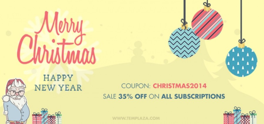 Sale 35% Off On All Subscriptions On This Christmas Season