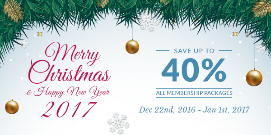 Save Up to 40% on All Subscriptions this Xmas & New Year 2017