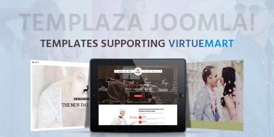 TemPlaza Joomla! Templates Supporting VirtueMart