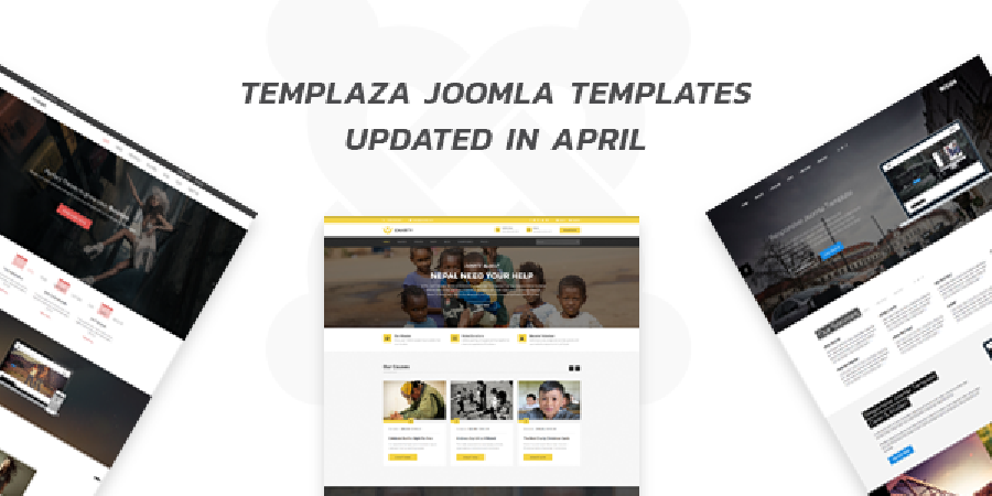 TemPlaza Joomla Templates Updated in April
